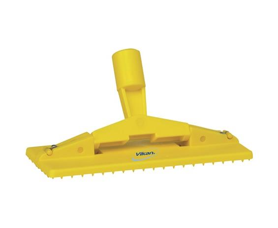 Vikan Cleaning Pad Holder, Yellow